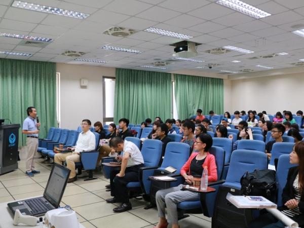 『創新與企業家精神』名師講座系列之二-『分享我的創新與創業經驗』中華民國科技部 劉錦龍參事